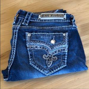 Rock Revival Easy Skinny jeans size 28R